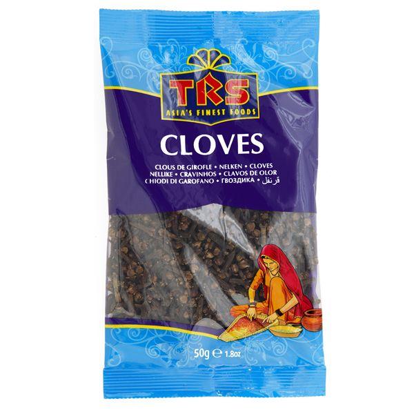 TRS- Nelken Cloves in 50 Gramm, Gewürz zum Kochen, gewürznelke