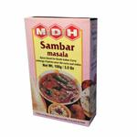 MDH Sambar Masala 100 Gramm Grwürzmischung indische Linsensuppe