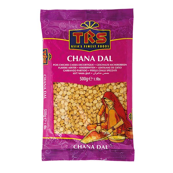 TRS- geschälte Kichererbsen 500 Gramm Chana Dal